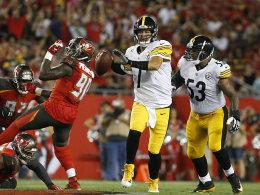 Big Ben behält die Übersicht: Erster Sieg für Steelers
