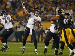 Duell der Erzrivalen: Ravens halten Big Ben in Schach