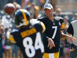 Steelers reichen zwei B's - St. Browns erster Catch!