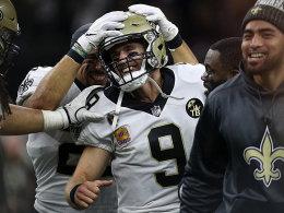 Rekordmann Brees vorbei an Manning! Saints düpieren Redskins