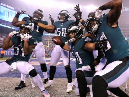 Trotz bärenstarkem Barkley: Eagles fertigen Giants ab