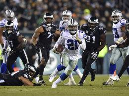 Elliott läuft den Eagles davon - Bitterer Sieg der Rams