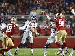 Manning behält die Nerven: Zweiter Sieg der Giants