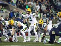 Trotz Big Plays von Rodgers: Seattle wahrt die Chance
