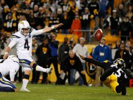 Historische Steelers-Pleite - Lauf-Spaß mit Brady