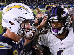 Ravens bremsen Chargers aus - Titans bleiben dran