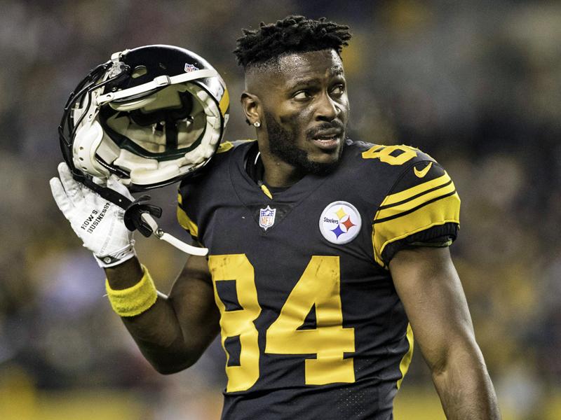 Nfl News Pittsburgh Steelers Wollen Antonio Brown Wohl Traden Nfl