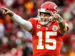Viel Frust bei den Colts - Mahomes und Kansas ziehen weiter