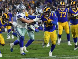 Glücksgriff im Dezember: Rams ringen Cowboys nieder