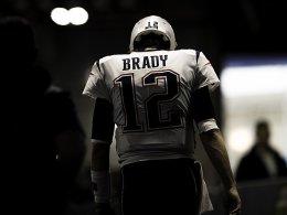 Brady ganz trocken: