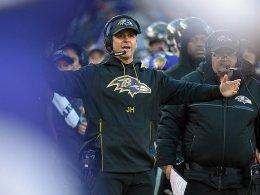 Vertrauen vorhanden: Ravens binden Harbaugh
