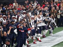 Im Ticker: Patriots schlagen gegen Rams zu