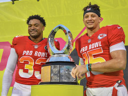 MVP! Mahomes setzt Super-Saison im Pro Bowl fort