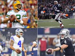Brady, Rodgers, Prescott, Carr - Quarterbacks 2017