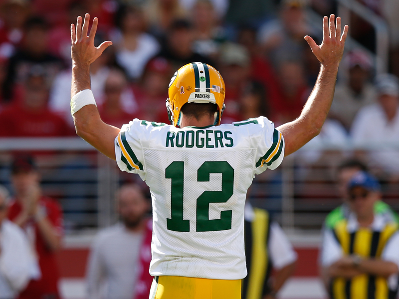 Der Touchdown-Thron: Rodgers auf Mannings Spuren