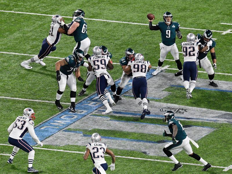 Alle Neune! Ein Super Bowl der Rekorde