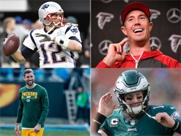 Brady, Rodgers, Wentz, Ryan - Quarterbacks 2018