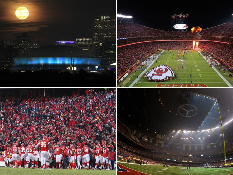 Heimvorteil? Der Saints-Dome und das laute Chiefs-Heim - NFL | American Football | Bildergalerie - kicker
