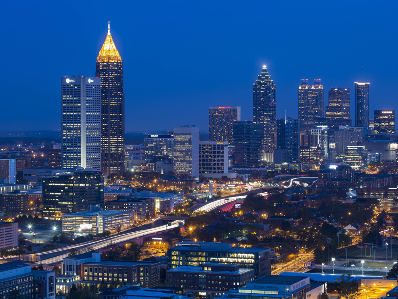 Das milliardenschwere Mercedes-Benz Stadium in Atlanta