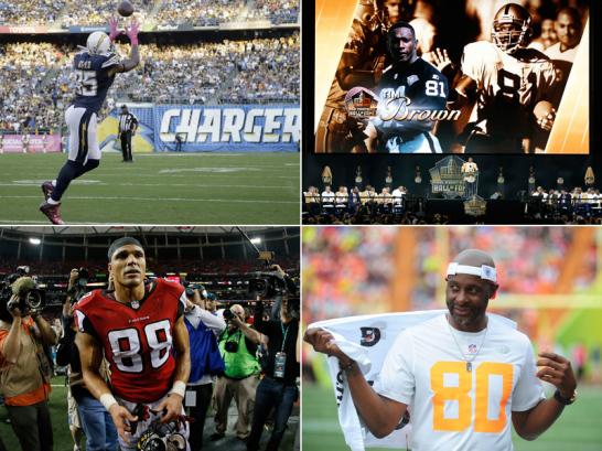 Die besten Receiver der NFL