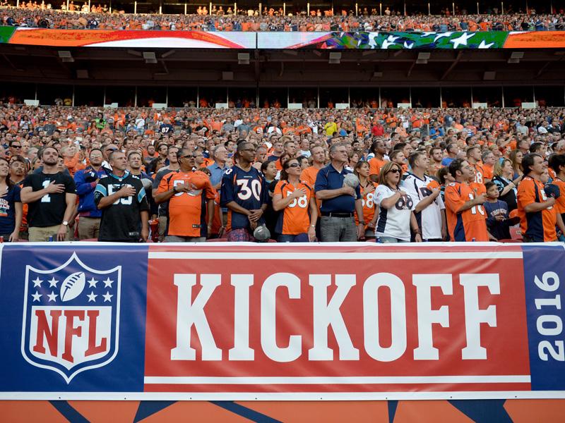 NFL-Action: einmal Salto, einmal Salsa