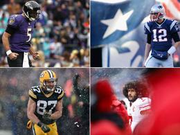 Schnee-Stimmungen und Quarterback-Freuden