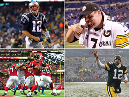 Stars im NFL-Halbfinale: Brady, Roethlisberger, Ryan & Rodgers