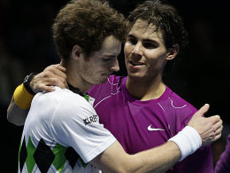 Andy Murray und Rafael Nadal