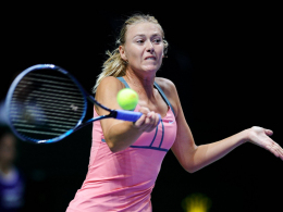 Kampf ums Finalticket: Die Russin Maria Sharapova.