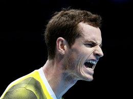 Verlor Mitte des zweiten Satzes die Konrolle über das Match gegen Djokovic: Lokalmatador Andy Murray.