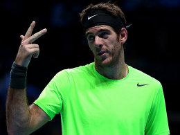 Spielt nicht gegen das deutsche Davis-Cup-Team: Argentiniens Nummer 1, Juan Martin del Potro.