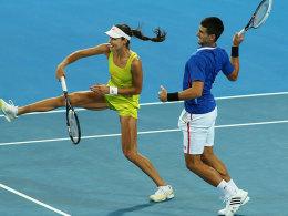 Ana Ivanovic und Novak Djokovic