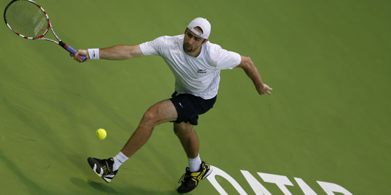 Benjamin Becker unterlag in Doha/Katar dem Russen Mikhail Youzhny in drei Sätzen.