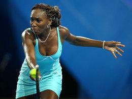 Ließ sich trotz Rückstand nicht beirren und besiegte die Französin Mathilde Johansson: US-Lady Venus Williams.