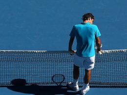Schon durch: Roger Federer hatte mit Benoit Paire keine Probleme.