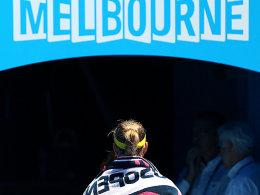 Das war's: Angelique Kerber ist in Melbourne ausgeschieden.