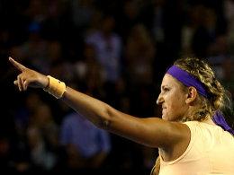 Feierte am Australia Day ihren zweiten Grand-Slam-Sieg: Victoria Azarenka.