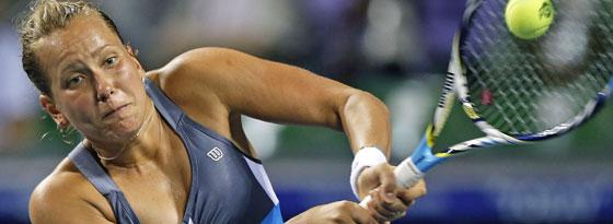 Barbora Zahlavova Strycova wurde sechs Monatewegen Dopings gesperrt.