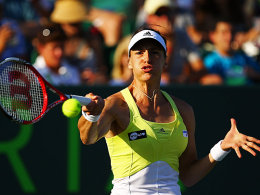 Überraschung in Miami: Andrea Petkovic schaltete Marion Bartoli aus.