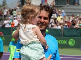 Tommy Haas mit Tochter Valentina
