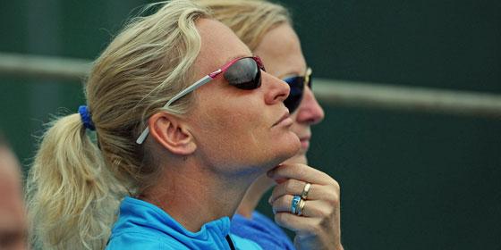 """""""Wir hatten in Miami ein kleines Tief"""", sagte Fed-Cup-Teamchefin Barbara Rittner über ihre Schützlinge."""