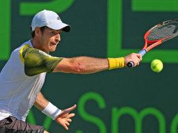 Andy Murray siegte im dritten Satz gegen David Ferrer und triumphierte damit in Miami.