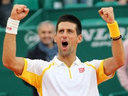 Novak Djokovic in Monte Carlo