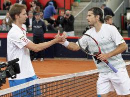 Mayer (l.) und Haas