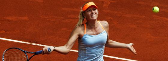 Eine Nummer zu groß für Sabine Lisicki: Maria Sharapova.