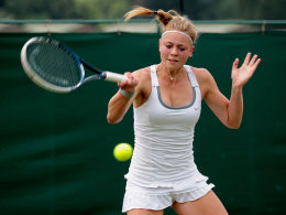 Carina Witthoeft in Wimbledon
