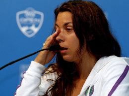Marion Bartoli erklärte nach der Niederlage gegen Simona Halep in Cincinnati ihren Rücktritt.