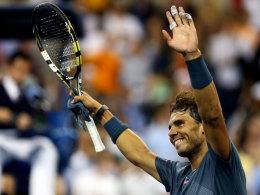 Rafael Nadal nach seinem Sieg über Tommy Robredo