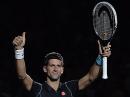 Nummer 1 von Paris: Novak Djokovic