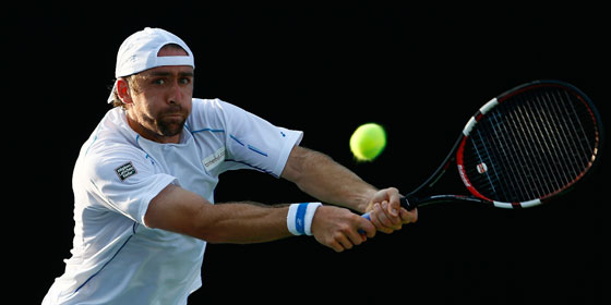 Benjamin Becker beim ATP-Turnier in Atlanta